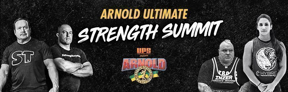 THE ARNOLD ULTIMATE STRENGTH SUMMIT