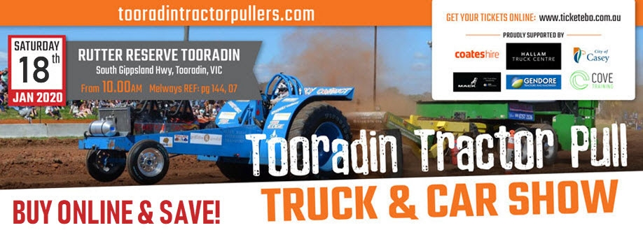 Tooradin Tractor Pull & Truck Show 2020