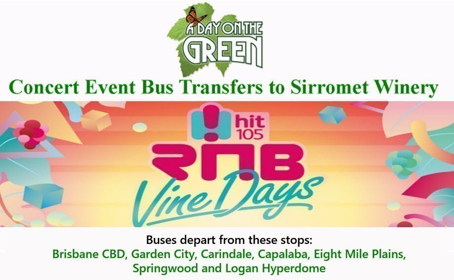 RNB Vine Days Bus Transfers