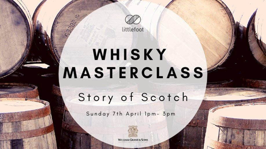 Whisky Masterclass – Story of Scotch