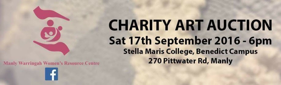 Charity Art Auction for Manly Warringah Woman's Resource Center