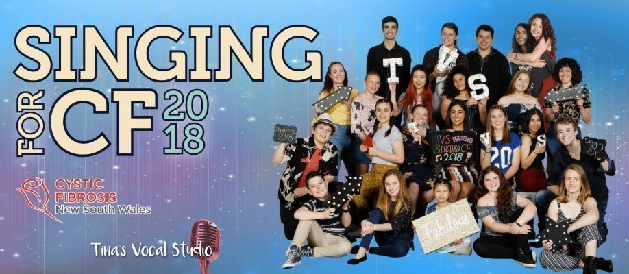 Tina's Vocal Studio presents Singing for CF 2018