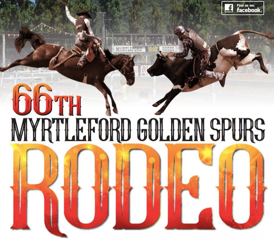 MYRTLEFORD 66th GOLDEN SPURS RODEO