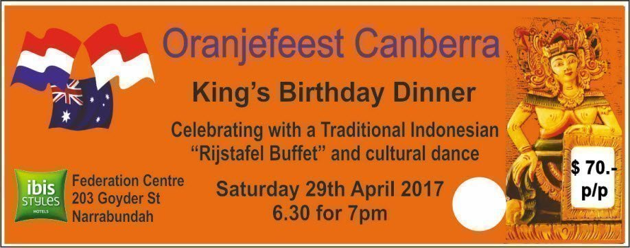 Oranjefeest Kings Dinner