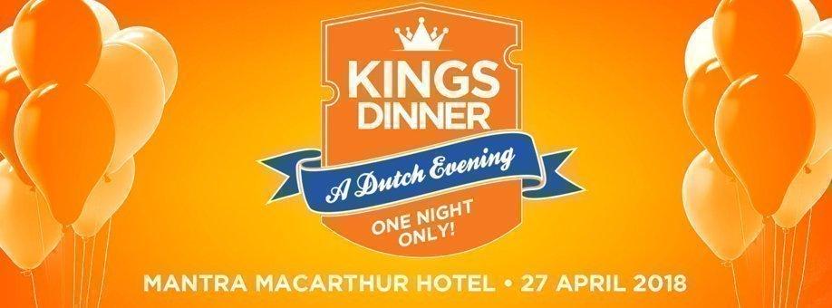 Oranjefeest Kings Dinner 2017