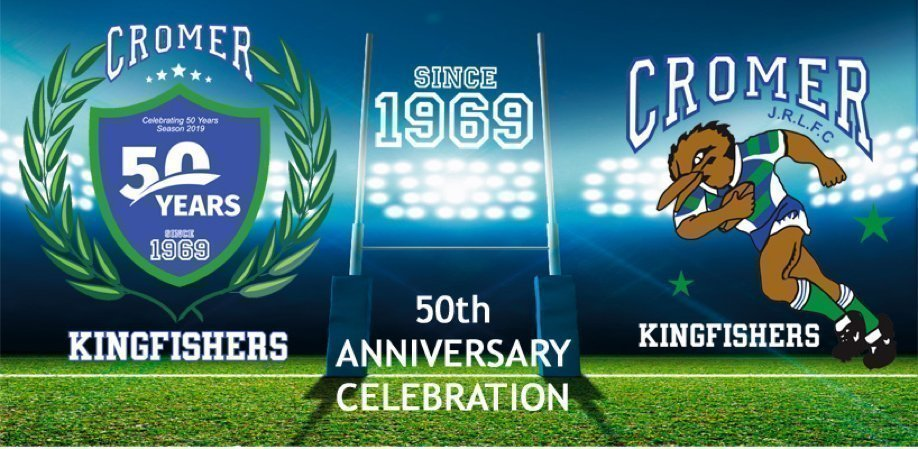 Cromer Kingfishers JRLFC 50 Year Celebration