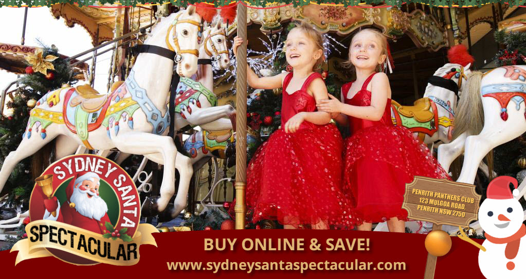 Sydney Santa Spectacular: Saturday 7 December 2019