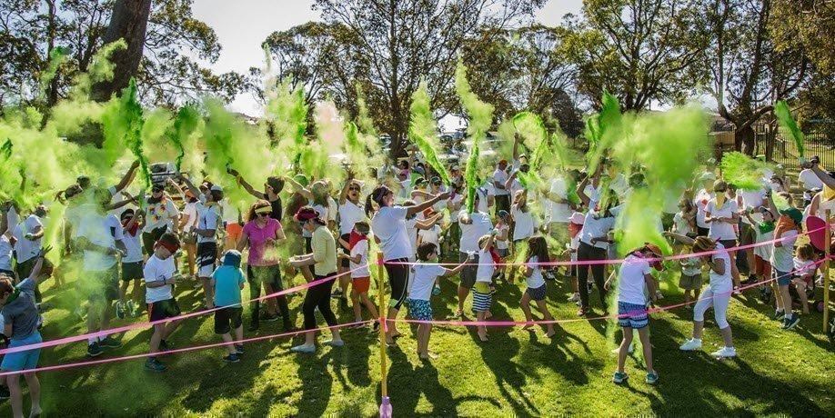North Woodvale Primary School Colour Run