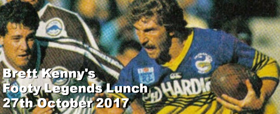 Brett Kenny's Footy Legends Lunch