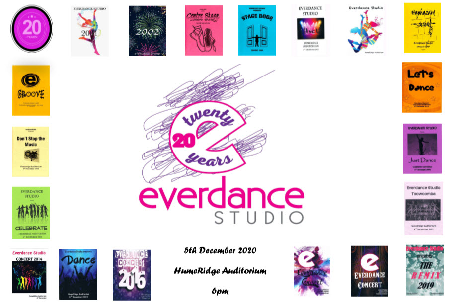 Everdance Studio presents: 20 in 20
