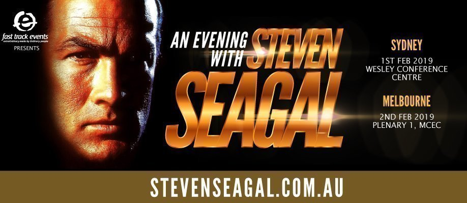 An Evening with Steven Seagal: MELBOURNE