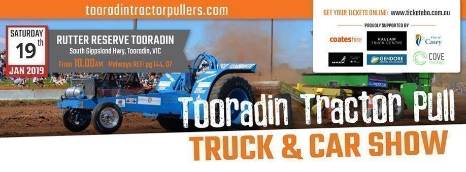 Tooradin Tractor Pull & Truck Show 2018