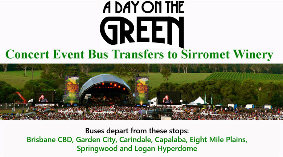A Day on the Green with Rod Stewart Bus Transfers: Saturday 2 April 2022