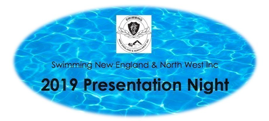 Swimming New England & North West 2019 Presentation Night