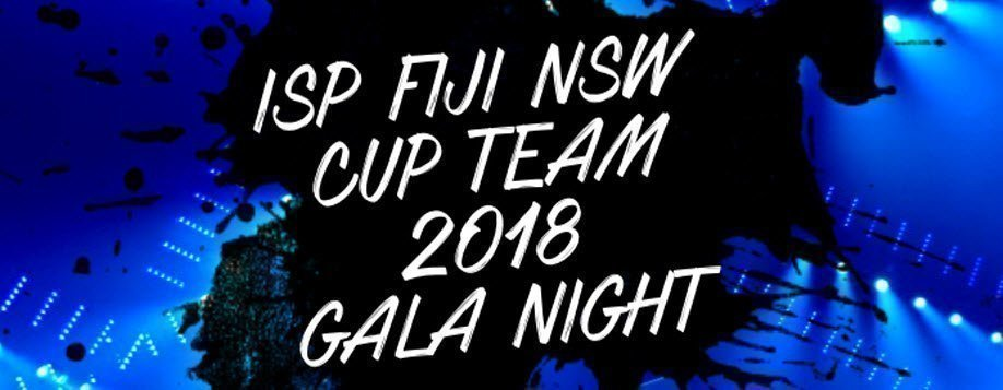 Fiji NSW ISP Team Gala Dinner