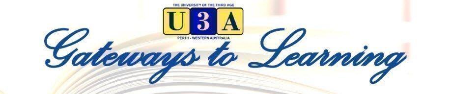 U3A Membership Renewal 2019