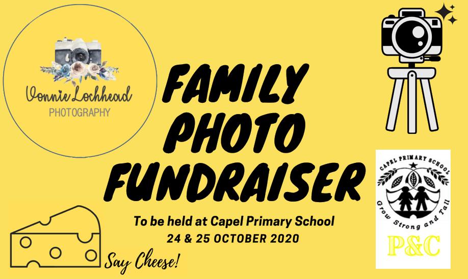 Capel Primary P&C Family Photo Fundraiser | SAT 24 OCT