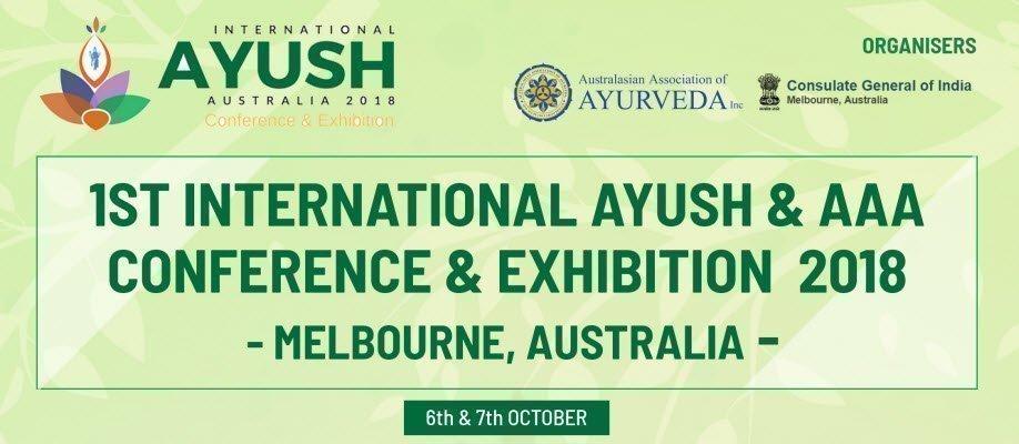 Ayush International Conference & Exhibition 2018, Melbourne, Australia