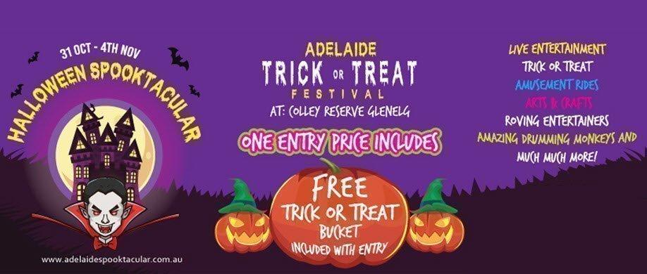 Adelaide Halloween Spooktacular - Wed 31 Oct 2018