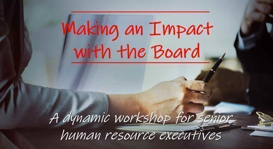 Making an Impact with the Board