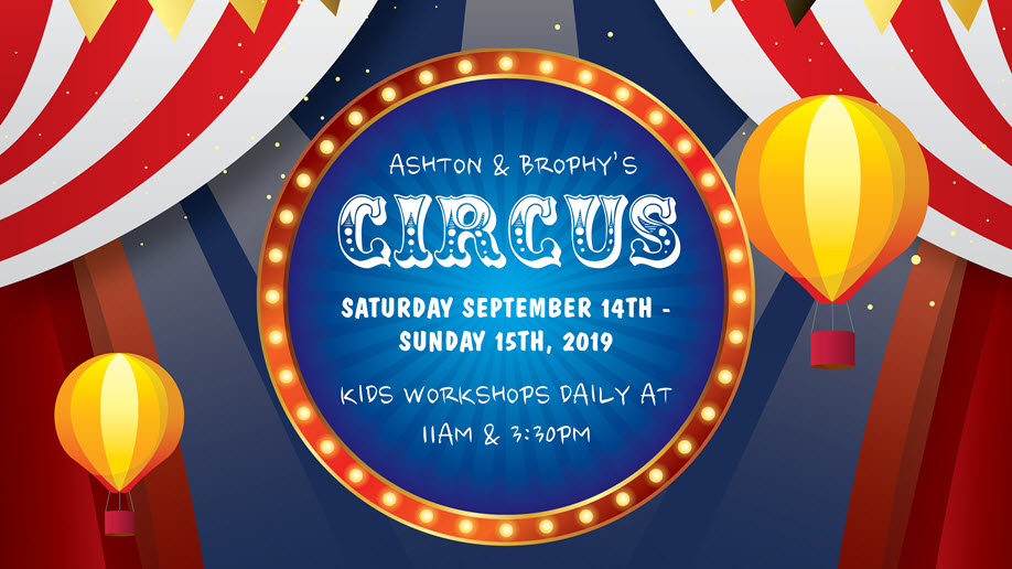 The Works Proudly Presents Ashton & Brophy's Circus | WORKSHOPS
