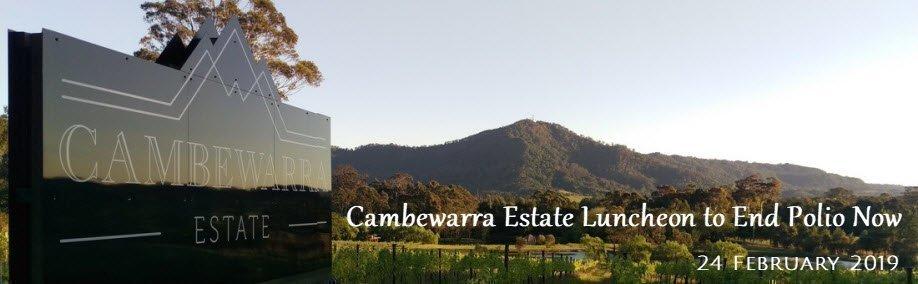 Cambewarra Estate Luncheon to End Polio Now