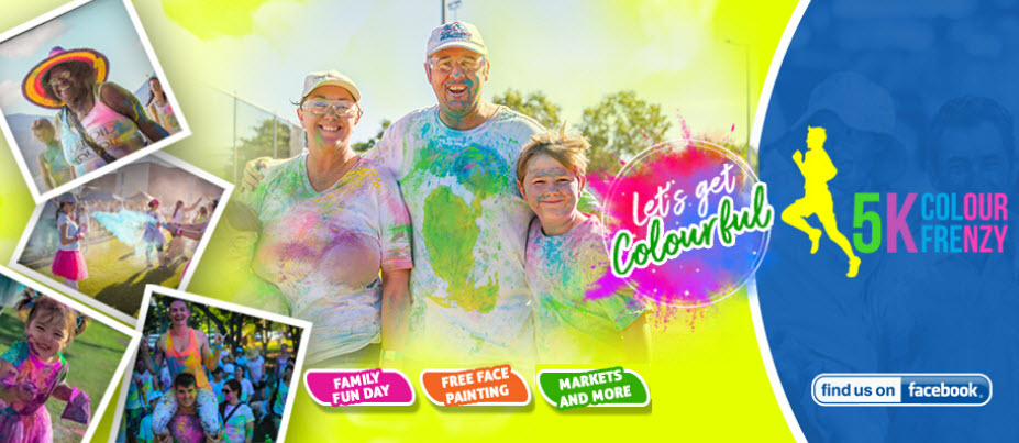 Townsville 5k Colour Frenzy