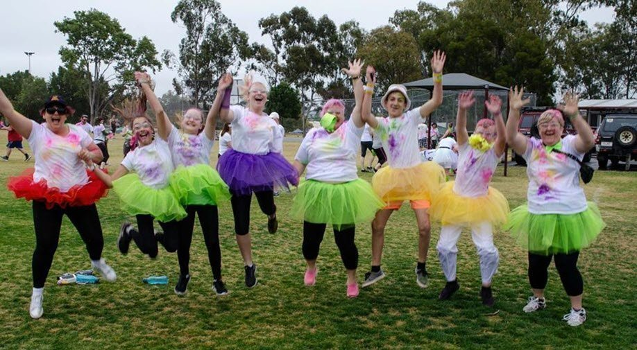 Sunshine Coast 5k Colour Frenzy
