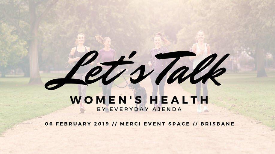 Let's Talk – Women's Health
