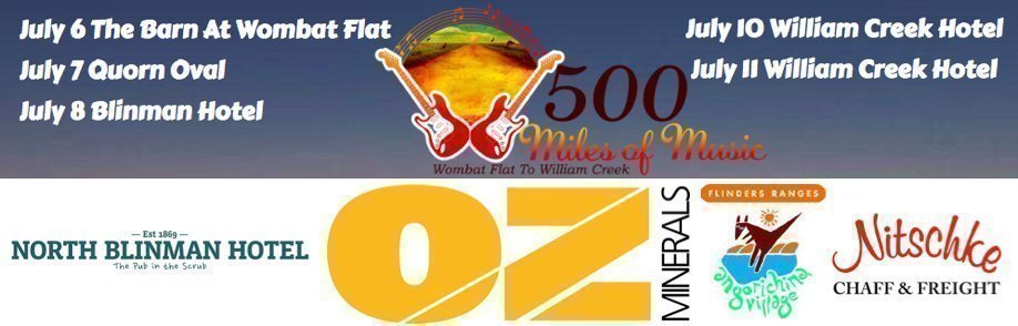 500 Miles Of Music | FULL TOUR FESTIVAL TICKETS