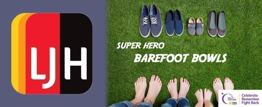 Super Hero Barefoot Bowls