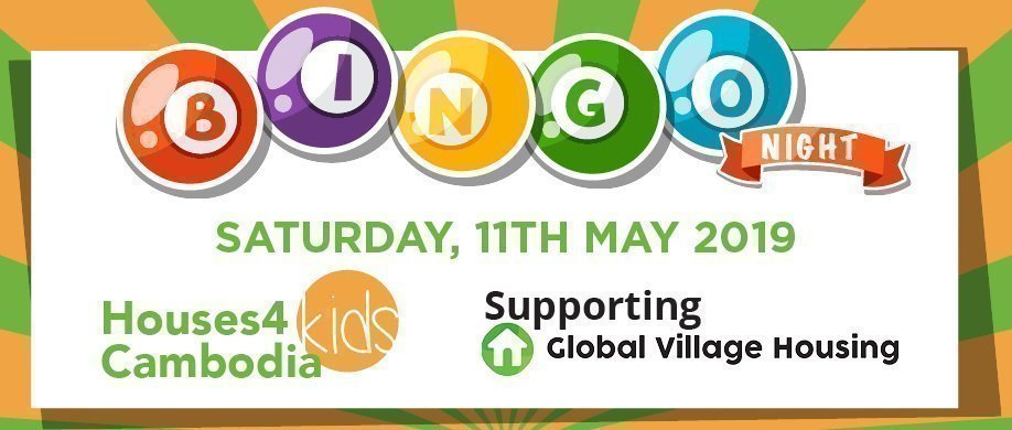 Kids for Cambodia Bingo Night