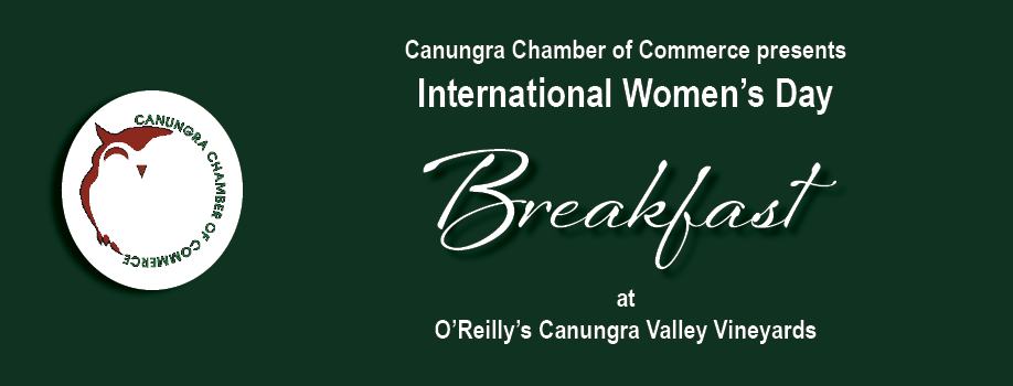 International Women's Day Breakfast – Canungra