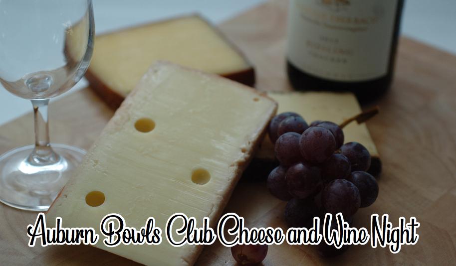 Auburn Bowls Club Cheese and Wine Night