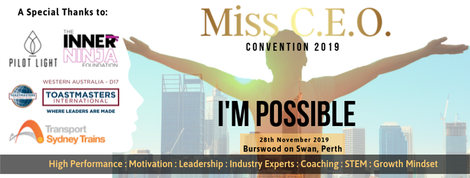 I'm Possible: Miss C.E.O. Convention