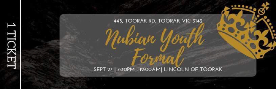 Nubian Youth Formal 2K19