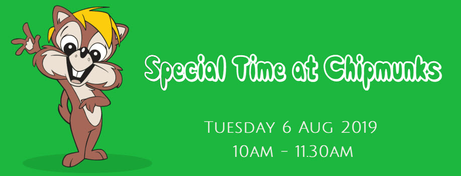 Special Time at Chipmunks