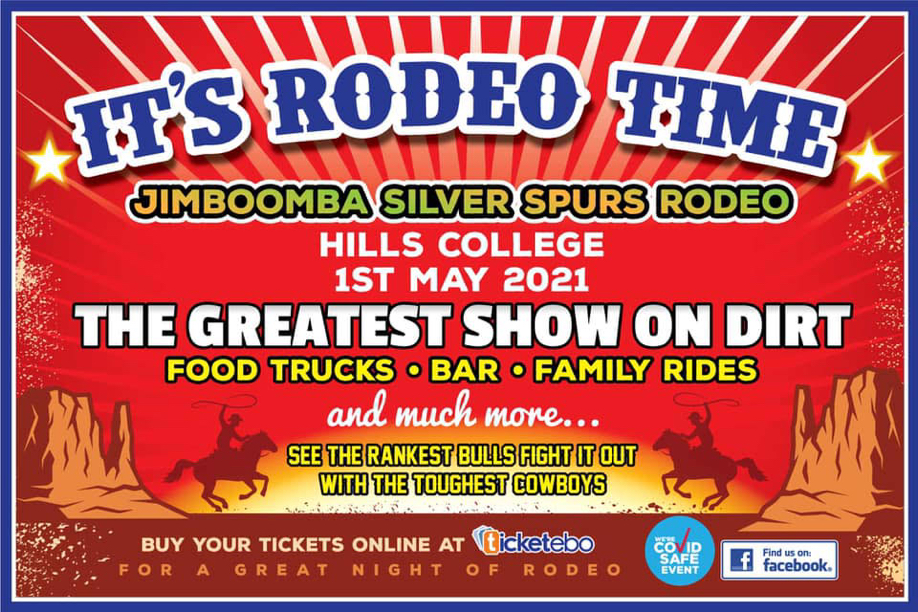 SHADY Characters Present The Jimboomba Silver Spurs Rodeo 2021
