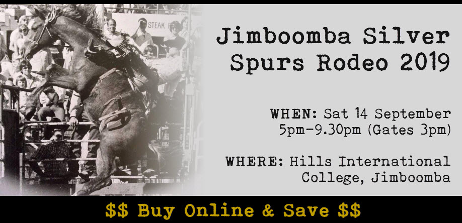 SHADY Characters Present The Jimboomba Silver Spurs Rodeo 2019