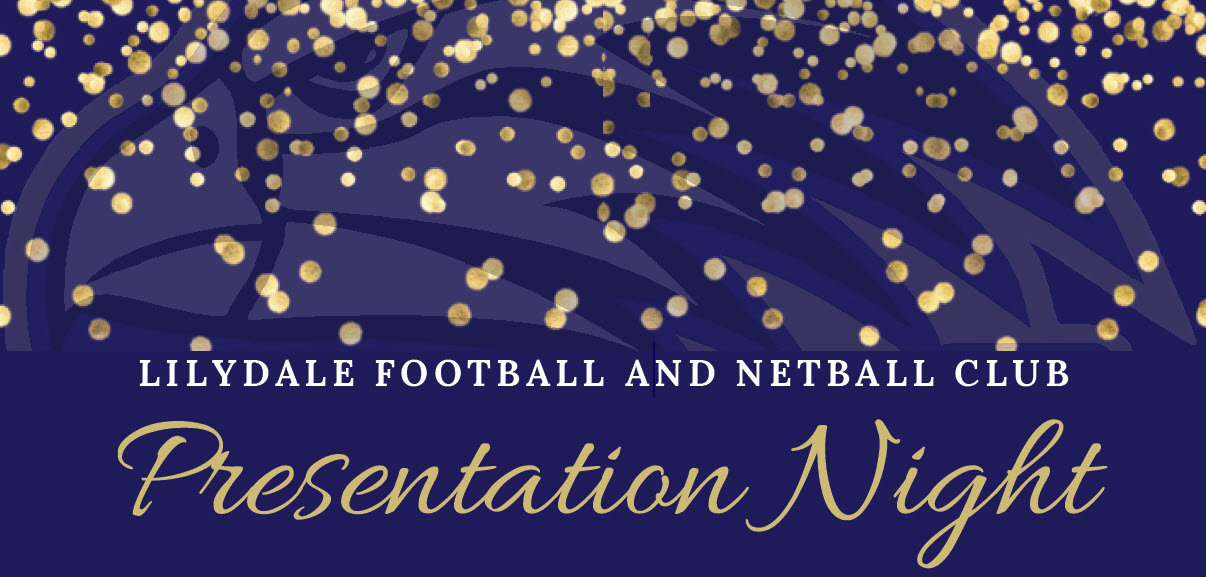 Lilydale Football & Netball Club Presentation Night 2019