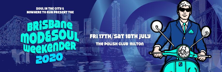 Brisbane Mod & Soul Weekender 2020