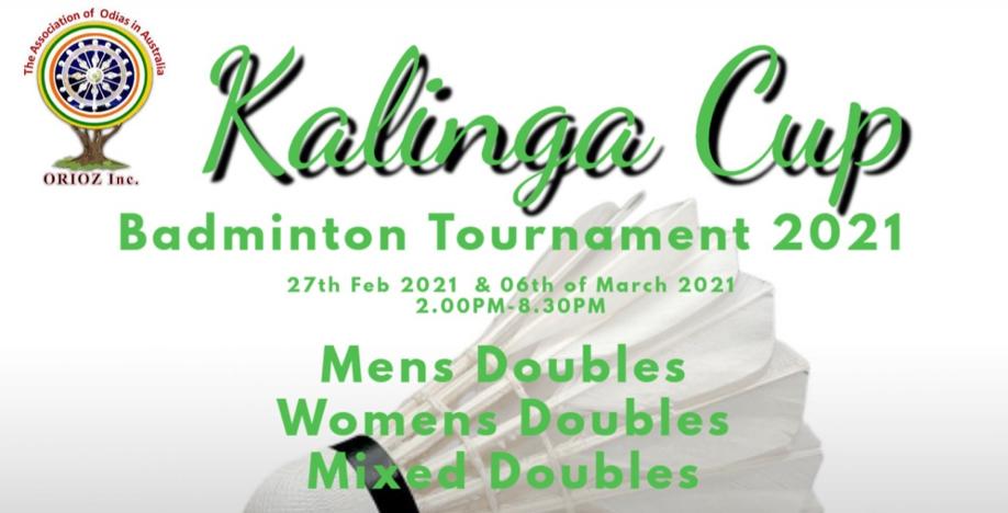 Kalinga Cup Badminton 2021