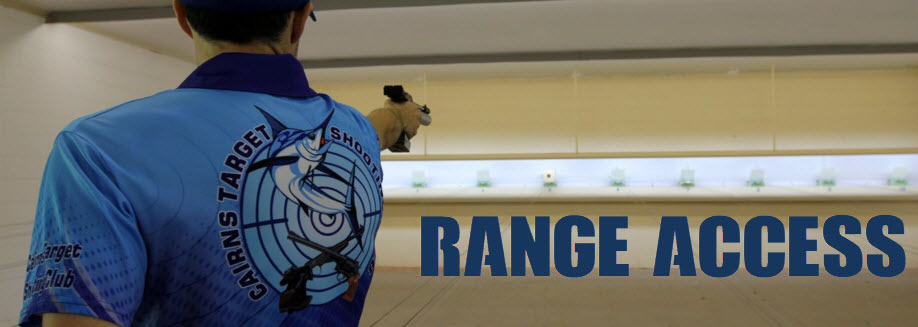 Range Access | SUN 19 JULY | Air Pistol, Service Pistol, WA1500 & ISSF Matches