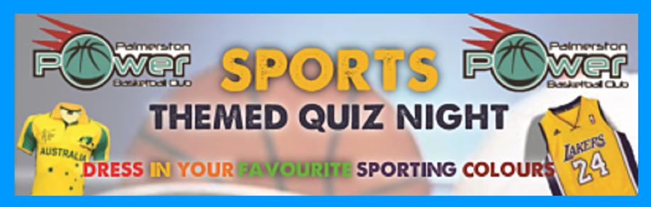 Sports Themed Quiz Night