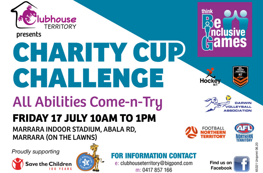 Think 'BIG' - Charity Cup Challenge – Community Come-n-Try