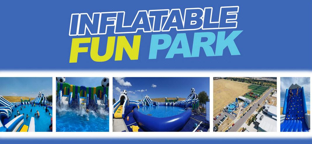 Inflatable Fun Park | DAY PASS | SATURDAY 19 DEC 2020