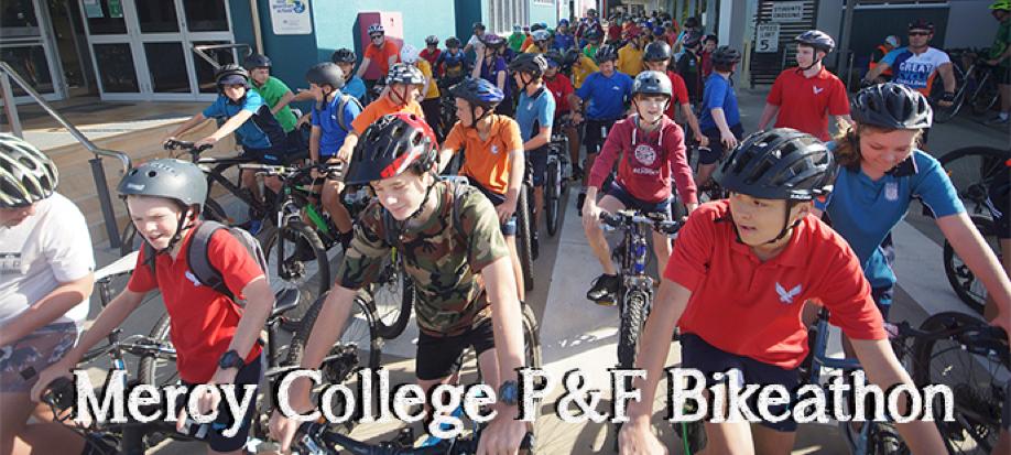 Mercy College P & F Bikeathon   DONATIONS