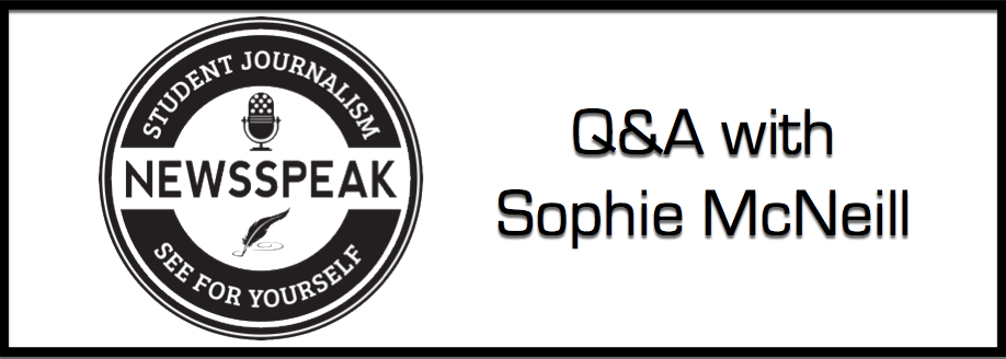 Q&A with Sophie McNeill