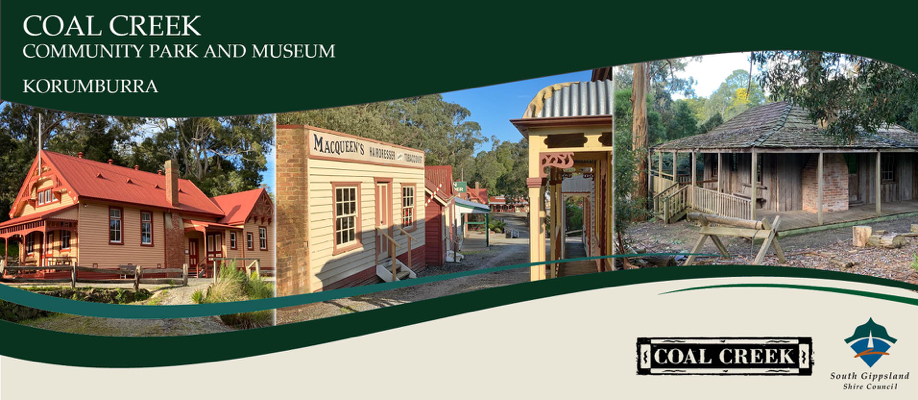 Visit Coal Creek Community Park and Museum | SAT 31 JULY