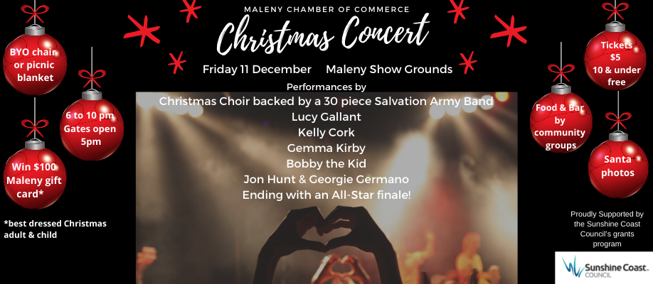 Maleny Commerce Christmas Concert